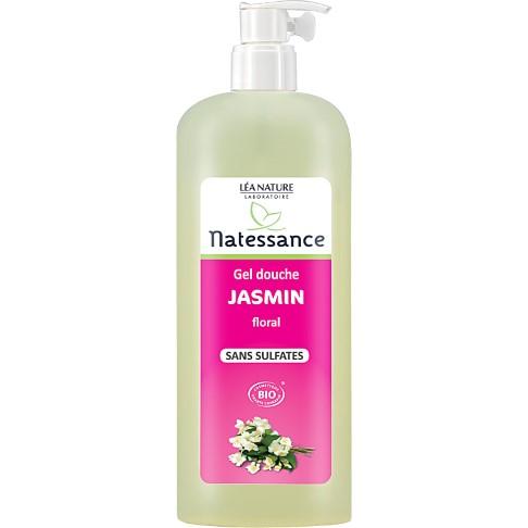 Natessance Sulfate-Free Floral Jasmin Shower Gel - 1L
