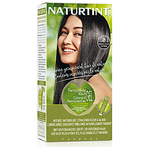 Naturtint Permanent Natural Hair Colour - 1N Ebony Black