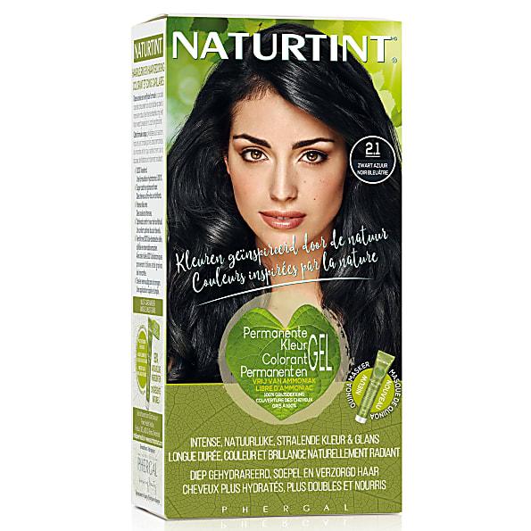 Naturtint Permanent Natural Hair Colour - 2.1 Blue Black