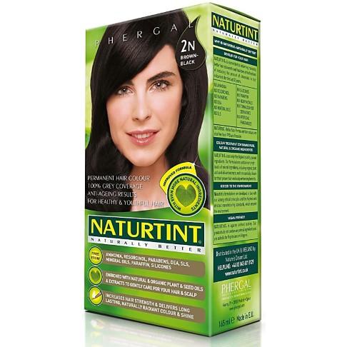 Naturtint Permanent Natural Hair Colour - 2N Brown Black