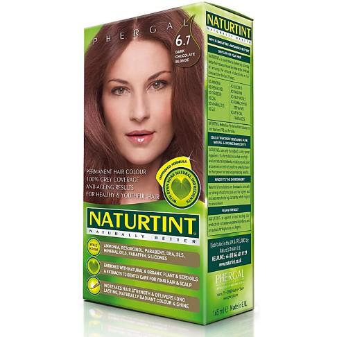 Naturtint Permanent Natural Hair Colour - 6.7 Dark Chocolate Blonde