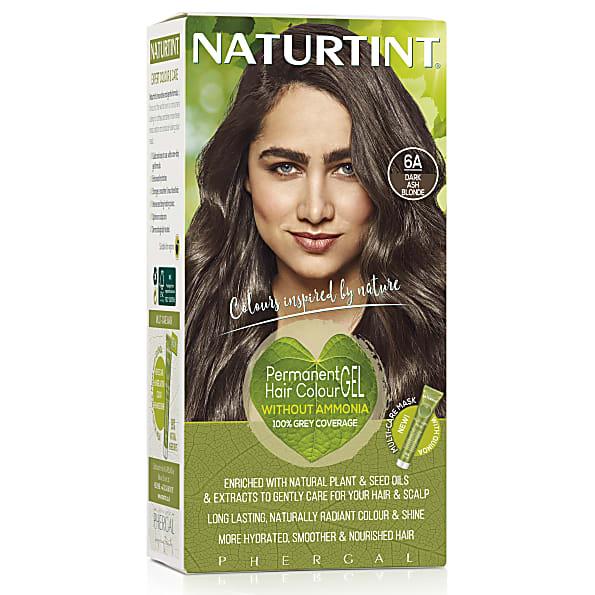 Permanent Natural Hair Colour 6a Dark Ash Blonde