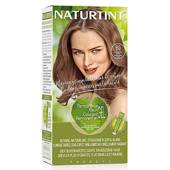Naturtint Permanent Natural Hair Colour 6g Dark Golden Blonde