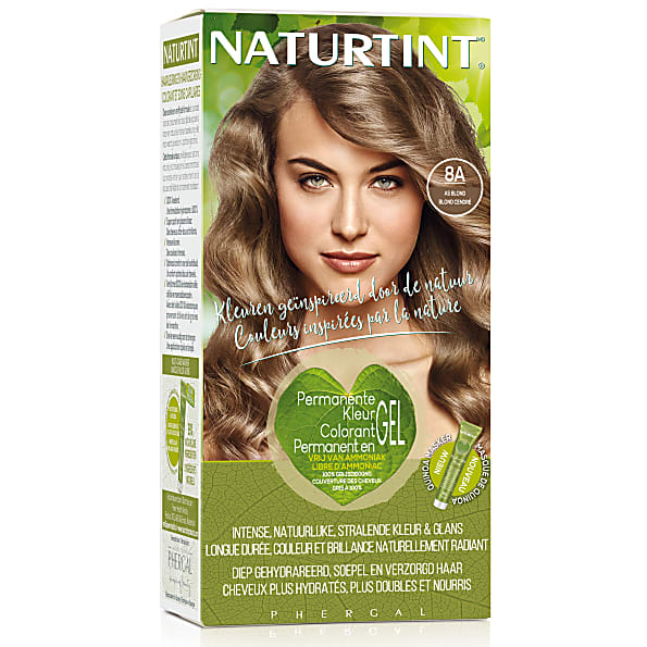 Naturtint Permanent Natural Hair Colour - 8A Ash Blonde