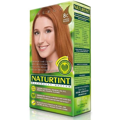 Naturtint Permanent Natural Hair Colour - 8C Copper Blonde