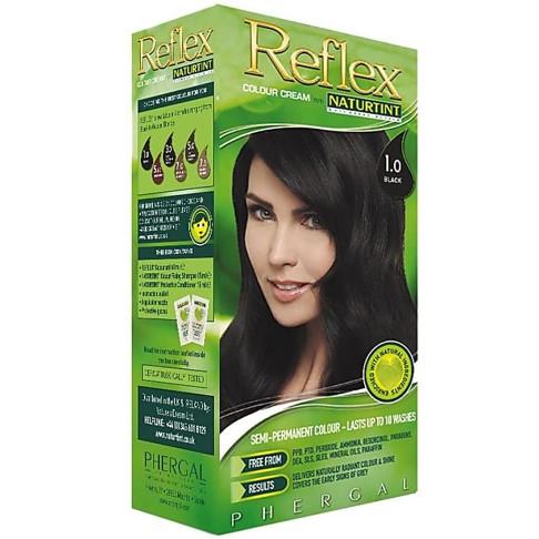 Naturtint Reflex Semi-Permanent Colour 1.0 Black