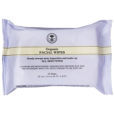 Neal's Yard Remedies Organic Facial Wipes (25 wipes)