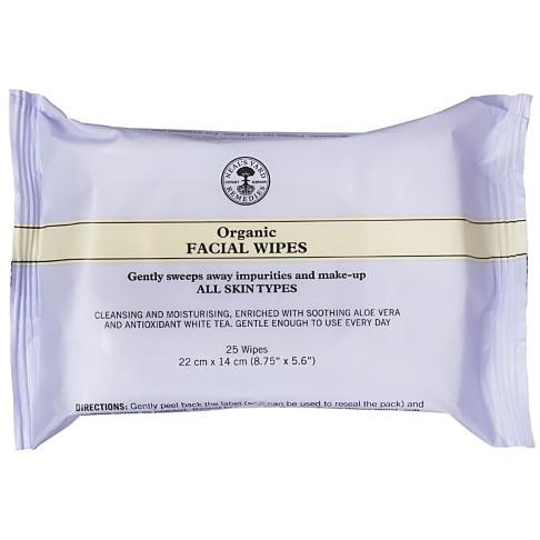 Neal's Yard Remedies Organic Facial Wipes (25 wipes)