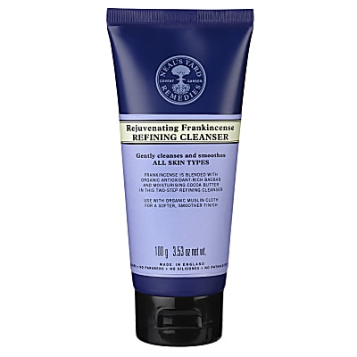 Neal's Yard Remedies Rejuvenating Frankincense Refining Cleanser (with muslin cloth)