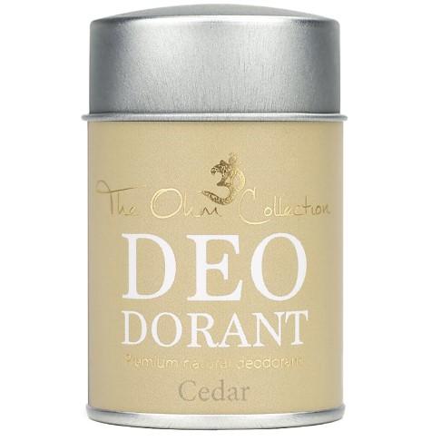 The Ohm Collection Deodorant Powder - Cedar - 50g