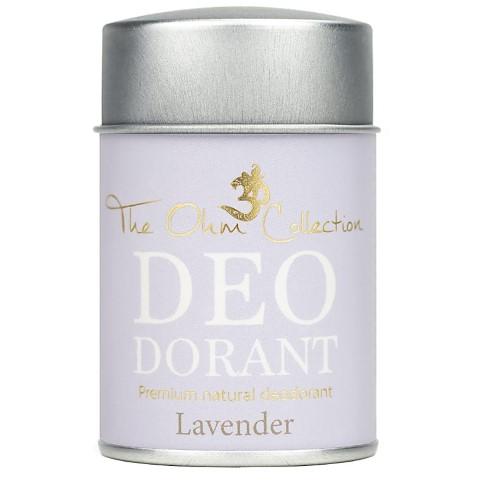 The Ohm Collection Deodorant Powder - Lavender - 50g