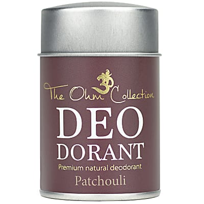 The Ohm Collection Deodorant Powder - Patchouli - 50g