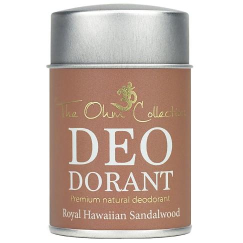 The Ohm Collection Deodorant Powder - Sandalwood - 50g