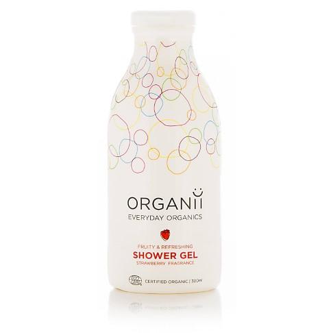 Organii Organic Strawberry Shower Gel