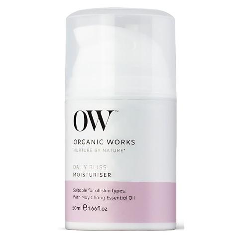 Organic Works Daily Bliss Moisturiser