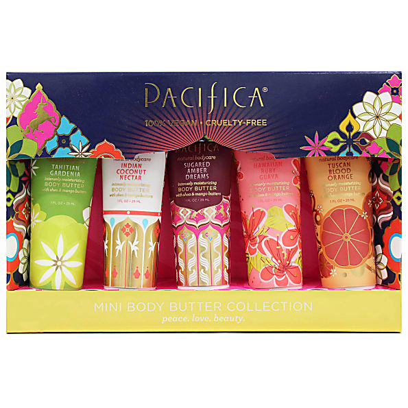6161036b53 Pacifica Mini Body Butter Collection Gift Set