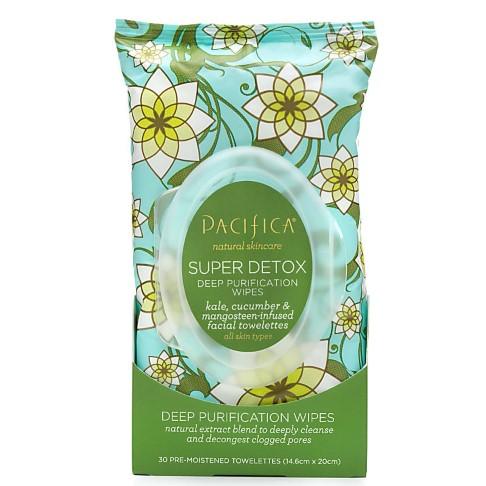 Pacifica Kale Super Detox Deep Purification Wipes (30 Pack)