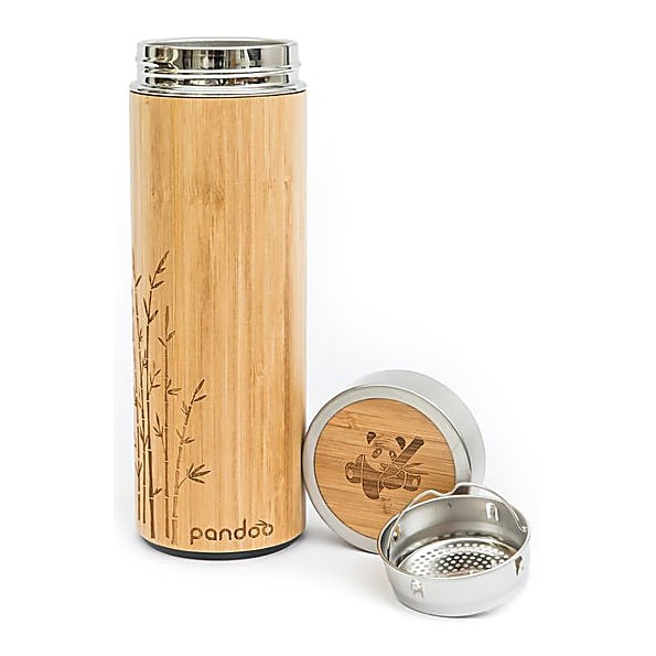 Cleaning Pandoo Bamboo Thermos Flask 480 ml