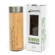Pandoo Bamboo Thermos Flask 360ml