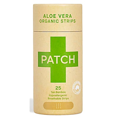 Patch Plastic Free Bamboo Plasters - Aloe