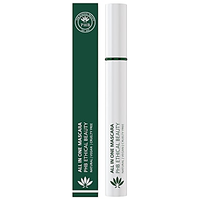 PHB Ethical Beauty All-in-One Natural Mascara: Black