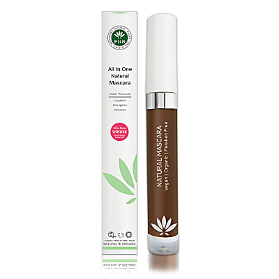 PHB Ethical Beauty All-in-One Natural Mascara: Brown