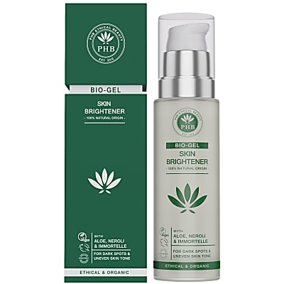 PHB Ethical Beauty Skin Brightener Bio-Gel with Aloe, Neroli & Immortelle