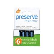 Preserve Triple Replacement Razor Blades (6 cartridges)