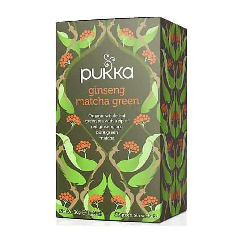 Pukka Ginseng Matcha Green (20 Bags)