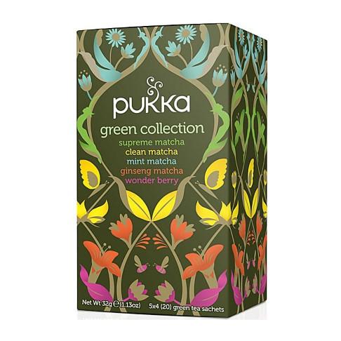 Pukka Organic Green Collection (20 Bags)