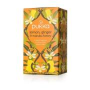 Pukka Organic Lemon Ginger & Manuka Honey Tea (20 Bags)