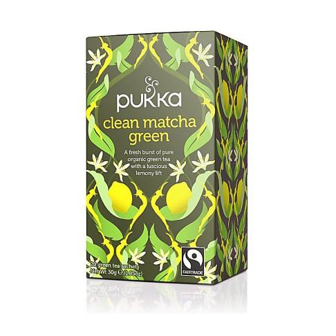Pukka Organic Clean Matcha Green Tea (20 Bags)