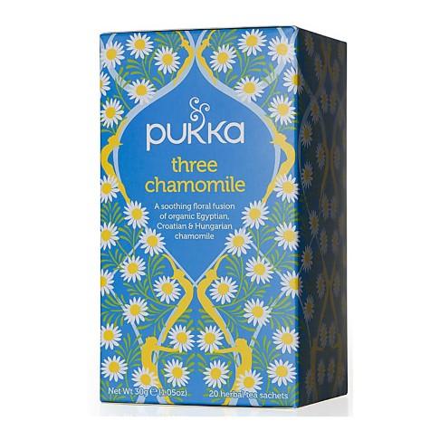 Pukka Three Chamomile Tea (20 Bags)