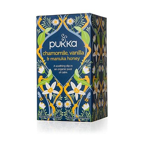 Pukka Chamomile Vanilla & Manuka Honey Tea (20 bags)