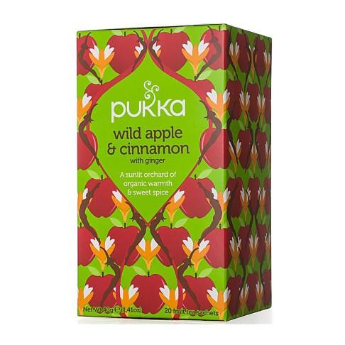 Pukka Wild Apple & Cinnamon Tea (20 Bags)