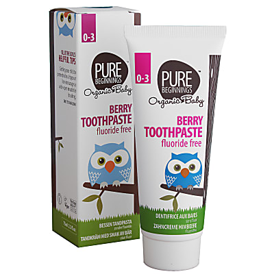 Pure Beginnings Baby Berry Toothpaste with Xylitol