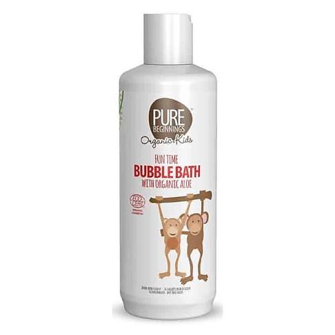 Pure Beginnings Fun Time Bubble Bath Organic Aloe