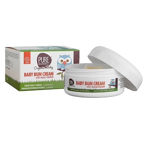 Pure Beginnings Baby Bum Cream Organic Baobab