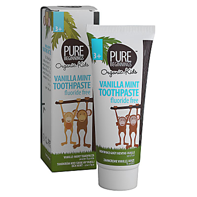 Pure Beginnings Kids Vanilla Mint Toothpaste with Xylitol