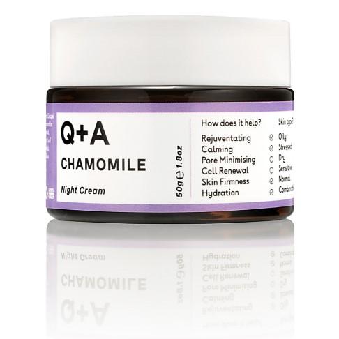Q+A Chamomile Night Cream