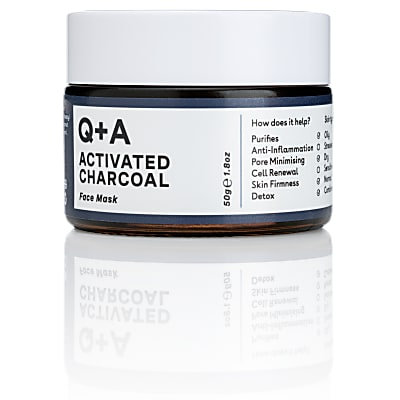 Q+A Activated Charcaol Face Mask