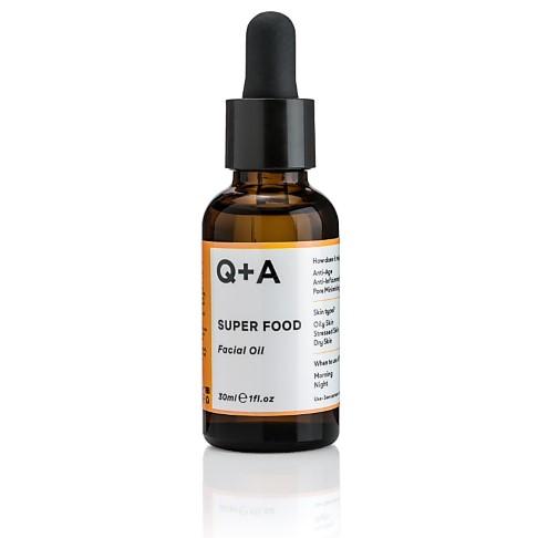 Q+A Super Food Facial Oil