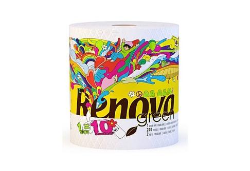 Renova Green 100% Recycled Paper Towel Gigaroll - Single