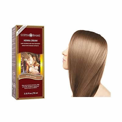 Surya Brasil Henna Cream - Ash Blond