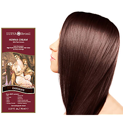 Surya Brasil Henna Cream - Chocolate