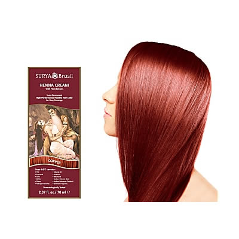 Surya Brasil Henna Cream - Copper