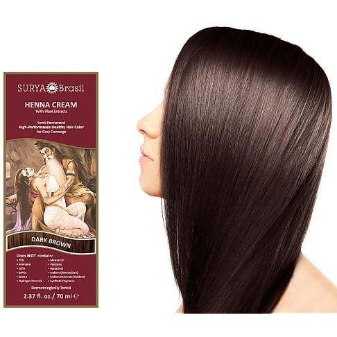 Surya Brasil Henna Cream - Dark Brown