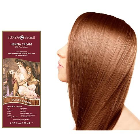 Surya Brasil Henna Cream - Golden Brown
