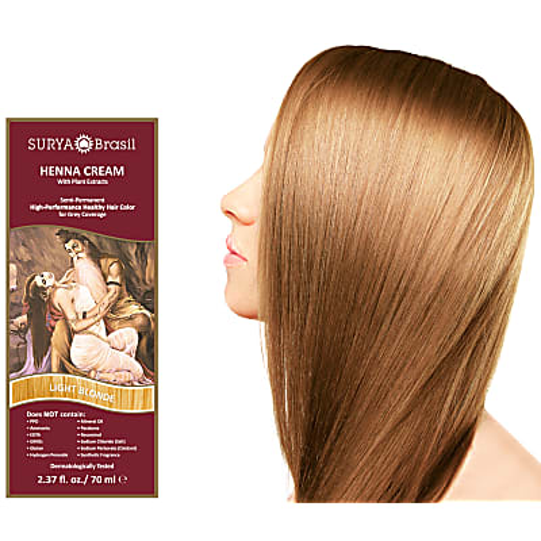 Surya Brasil Henna Cream -  Light Blonde
