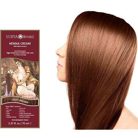 Surya Brasil Henna Cream - Light Brown